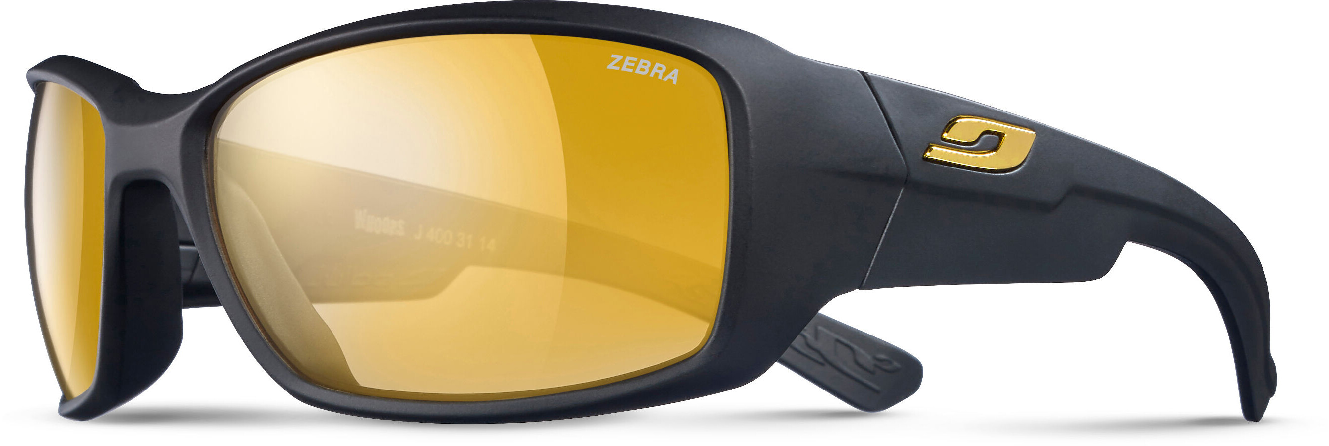 15aeafa261 Julbo Whoops Zebra Glasses yellow black at Addnature.co.uk